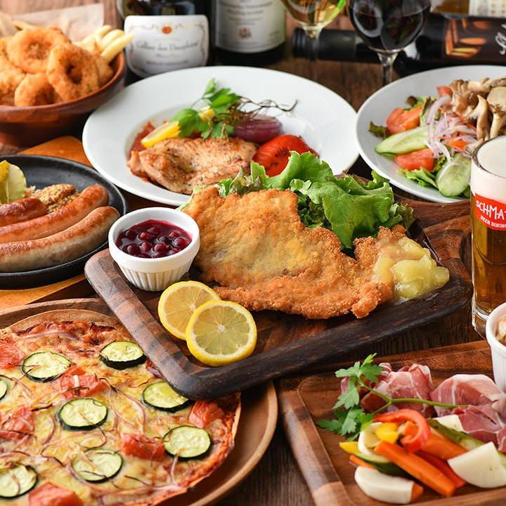 SCHMATZの人気料理を味わうならパーティーコースがおトク♪