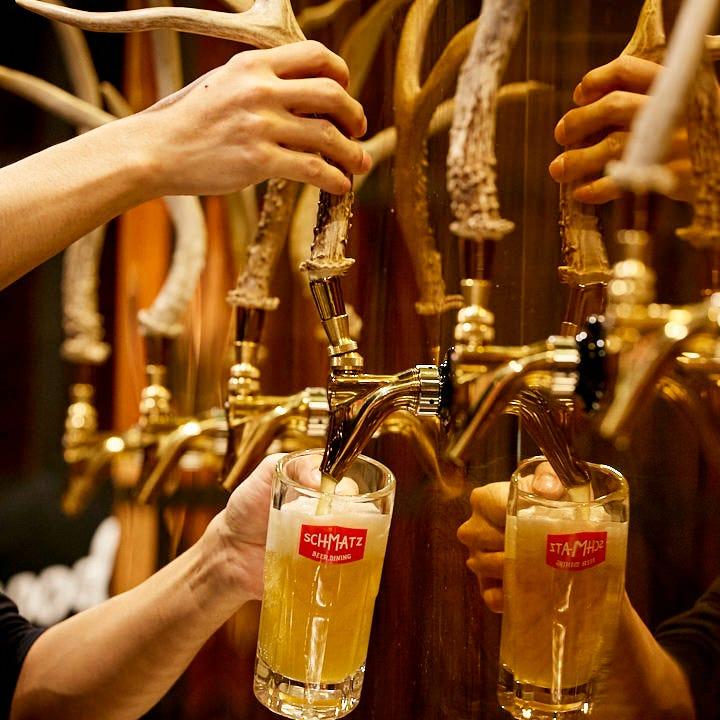 ここでしか味わえないドイツビール♪