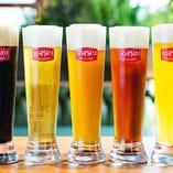 ドイツ人オーナーのこだわりのクラフトビール