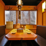 多彩な完全個室 ご人数に合わせてお席をご用意いたします
