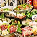 当店自慢のご宴会コースは2500円~5000円とご用意してます♪