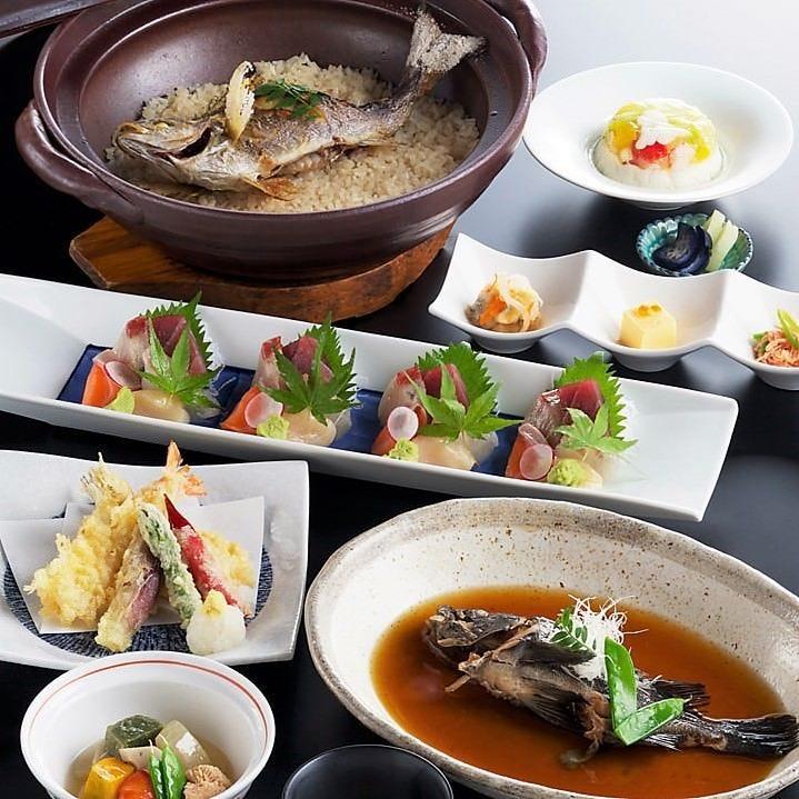 ◆2h飲み放題付【5,500円 込み込み】吟味・魚菜心伝コース|宴会 女子会 飲み会 昼宴会