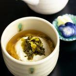 トロロ高菜茶漬け