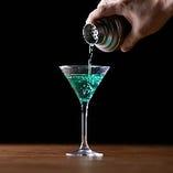 【バーテンダー】 お客様のご要望に応じた1杯もご提供可能
