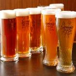 出来たてのビールを味わえます