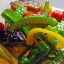 横須賀野菜オリーブオイル焼
