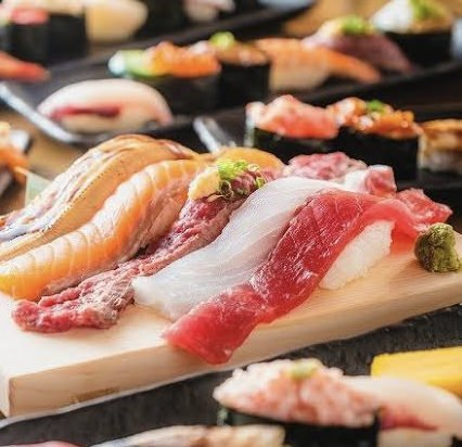 ★寿司 肉寿司110種3H食べ飲みプラン