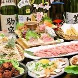 青森郷土料理堪能宴会コース3000円からご用意!ぜひ地酒と共に