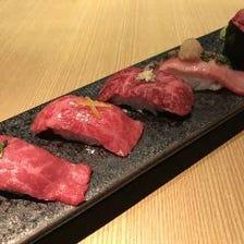 極上の和牛にぎり寿司