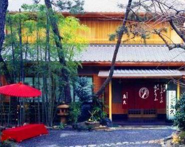 祇園の観光地のすぐ近く