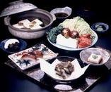 【湯豆腐】を是非ご賞味下さい 特製豆腐のお味を愉しめます