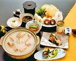 【名物】若鶏の水だきのコース 名古屋コーチン使用で格別なお味