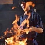 おすすめの藁焼きメニュー560円もご用意。
