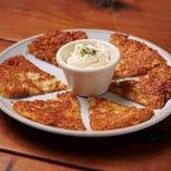 カリカリ チーズガレット