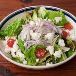 10種のグリーンサラダ