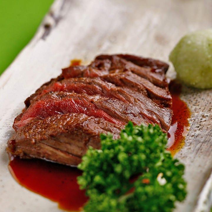 ステーキと旬の美味を揃えたコース ご予算のご相談もお気軽に
