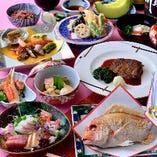 お顔合わせ・結納、長寿のお祝い、お食い初めの儀式など、慶事のお集まりもお任せください。