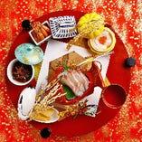 ご用途に合わせたお仕立てで、お料理をご用意いたします。ハレの日のお食事にも華を添えさせていただきます。
