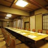 4名様~最大45名様 個室は大小様々、幅広いシーンにご利用いただけます