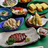 会席料理は3,000円台から、多彩にご用意しております。