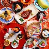 華やかな会にはその席にふさわしい食材、盛り付けでお料理をご用意させていただきます。