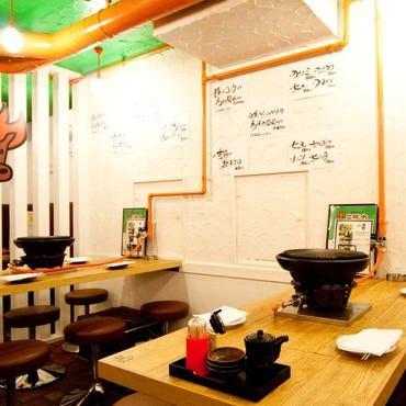 東京馬焼肉 三馬力 池袋店 店内の画像