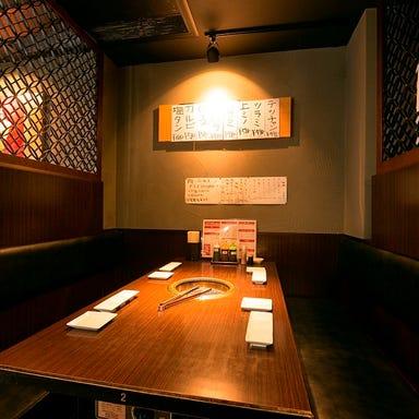 焼肉居酒屋 0 ZERO 地下鉄平野駅前店 店内の画像