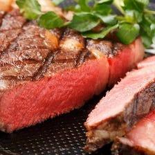■熟成赤身ステーキが大好き!
