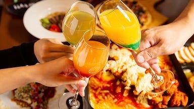 鉄板料理と果実酒 くれいじーグリル 福岡天神店  コースの画像