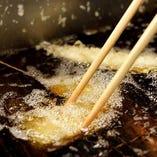 【こだわり米油】 素材を活かす軽い食感で体にやさしい天ぷら