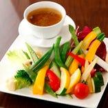 美味しい野菜のバーニャカウダー
