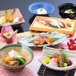 個別盛りで接待や会食に最適な「水仙」をご用意しております。