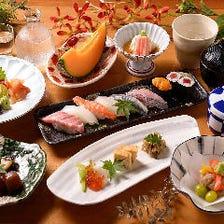 季節を告げる食の饗宴を月替わりで。