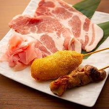 注文率ほぼ100%!?ガリ×豚ロース肉のハーモニー 【KUHACHI(串カツ or くわ焼き)】