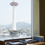 京都タワーや京都五山を一望!美しい風景と共にお食事を