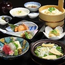 京の春を満喫。四季を彩る京懐石