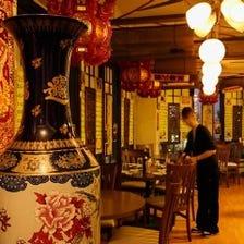 中国の雰囲気で自慢の料理を楽しんでください♪