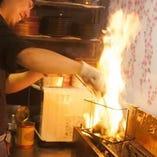【若鶏のゴロ焼き】 備長炭で焼いたとてもジューシーな一品!