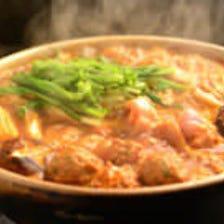 三河地鶏鍋 ぴり辛味噌仕立て