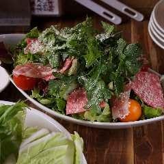 肉十八番屋サラダ