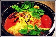コラーゲンにリコピンまで!「美健野菜の美健TOMATO参鶏湯」 辛くも(*'-')b OK!