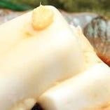 自家製ジーマミー豆腐