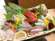 新鮮魚介を使ったメニューが充実