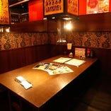 【少人数の飲み会・食事に】2名様~利用可能のBOX席多数完備