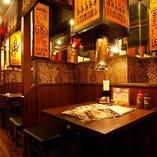 【BOX席】2名様~最大40名様迄…友人との食事・飲み会や、大人数での打ち上げ等に!