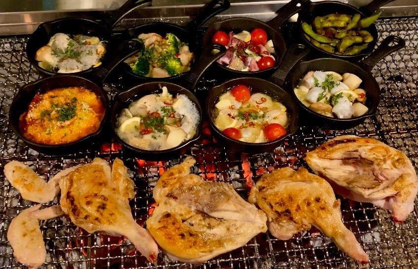 炭と鶏とアヒージョ BABEQO ばべこ