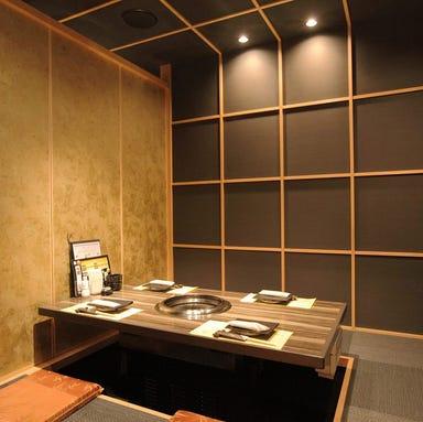 個室×焼肉 ARITA 立売堀店 店内の画像