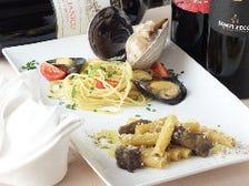 【天空コース 神楽 】乾杯ドリンク付 前菜6種 パスタ2種・お魚料理とお肉料理Wメイン・デザート・カフェ