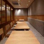 テーブル個室【10~14名様】企業様の宴会や接待など、特別な宴席におすすめ