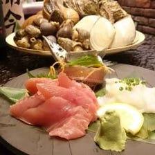 新鮮な貝と日本酒が自慢の居酒屋